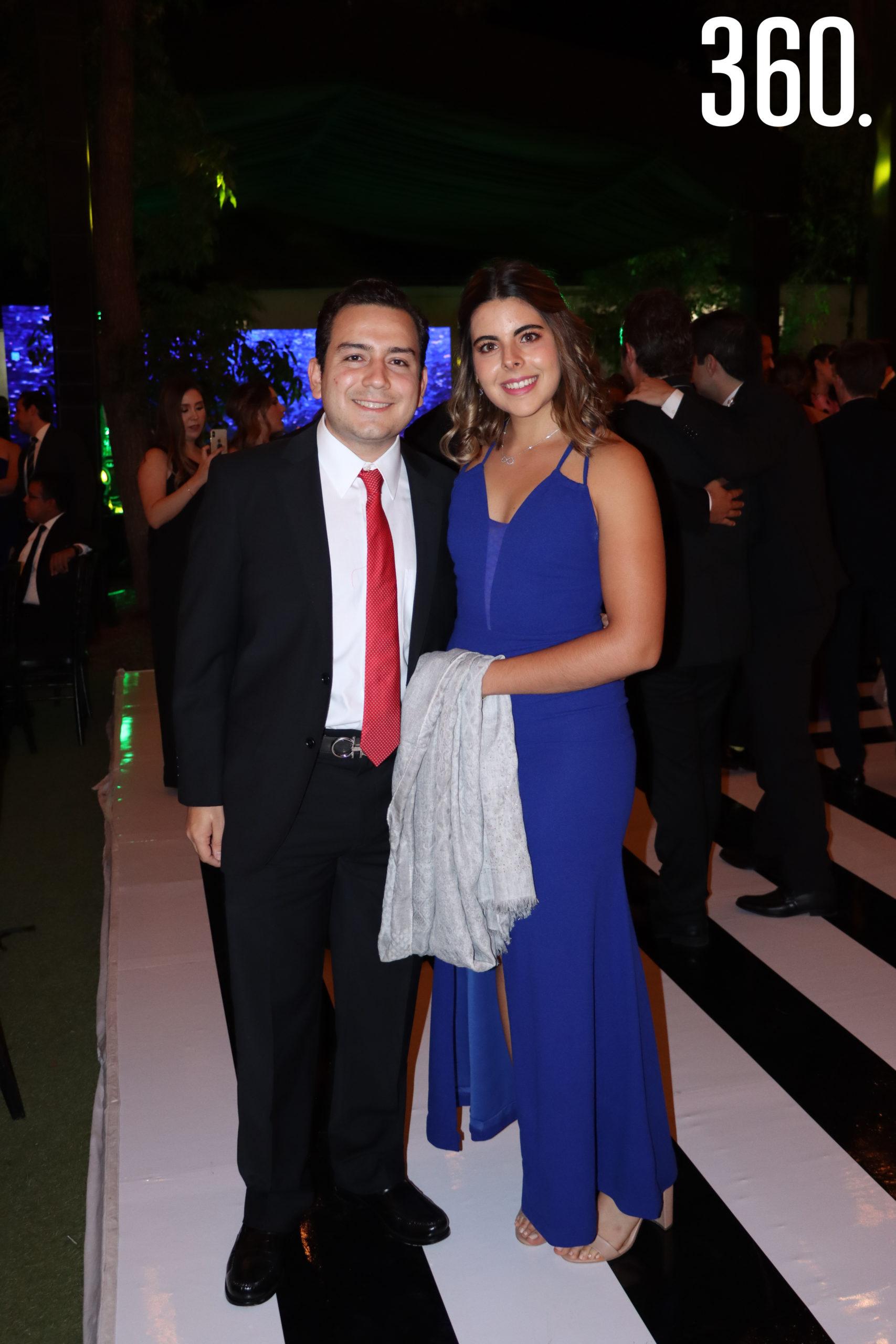 David Rubio y Mariana de Nigris.
