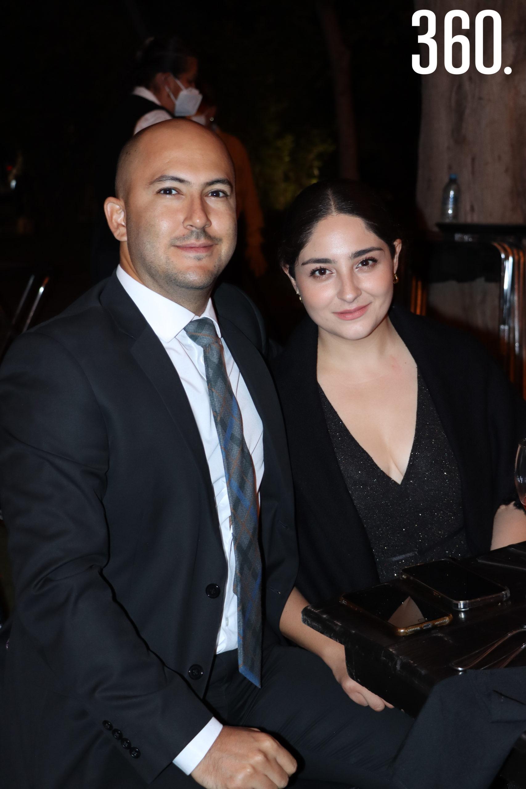 Ricardo Ramírez y Diana Hernández.