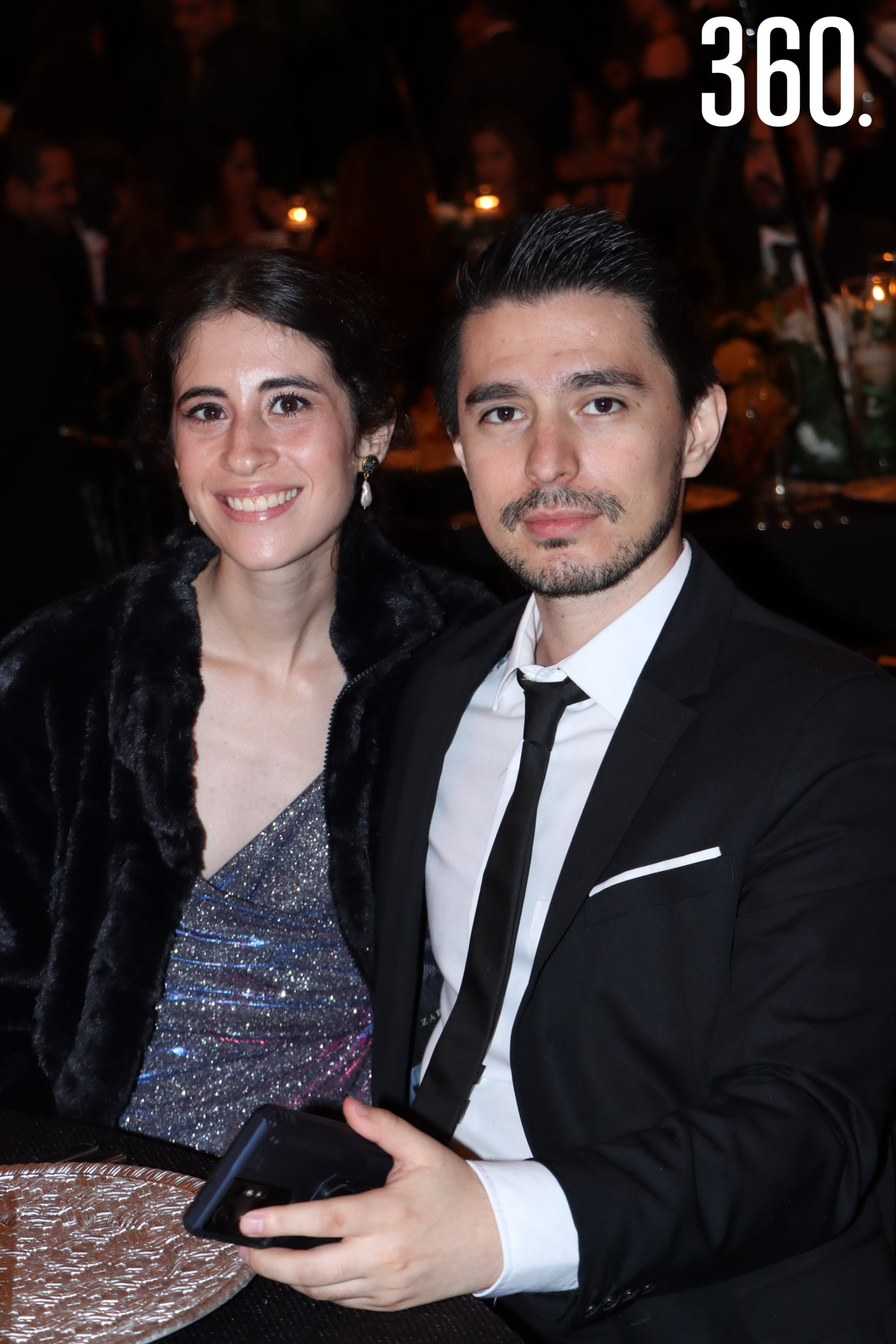 Mónica Rivera y Luis Guzmán.