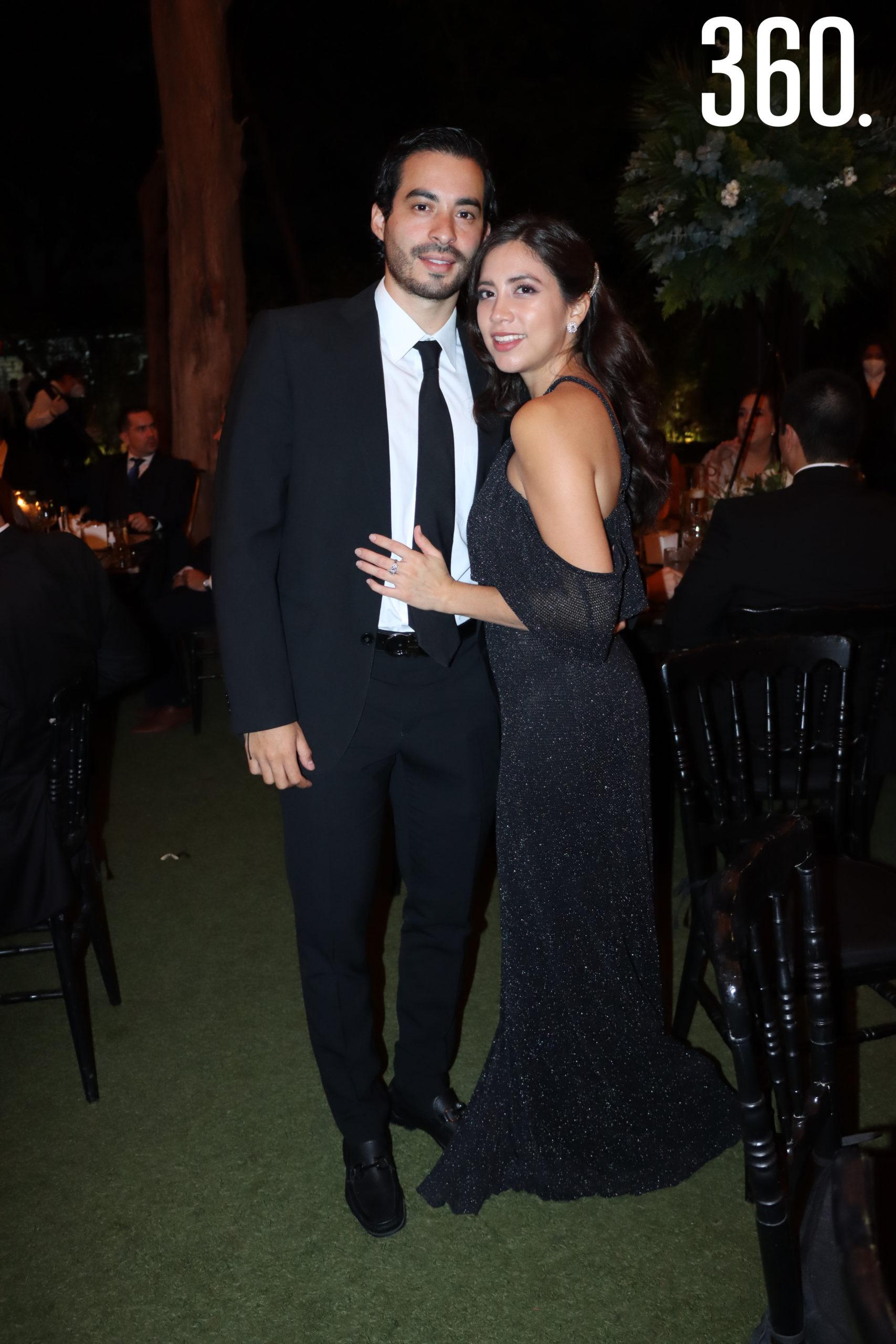 Mauricio Hernández y Paulina García.