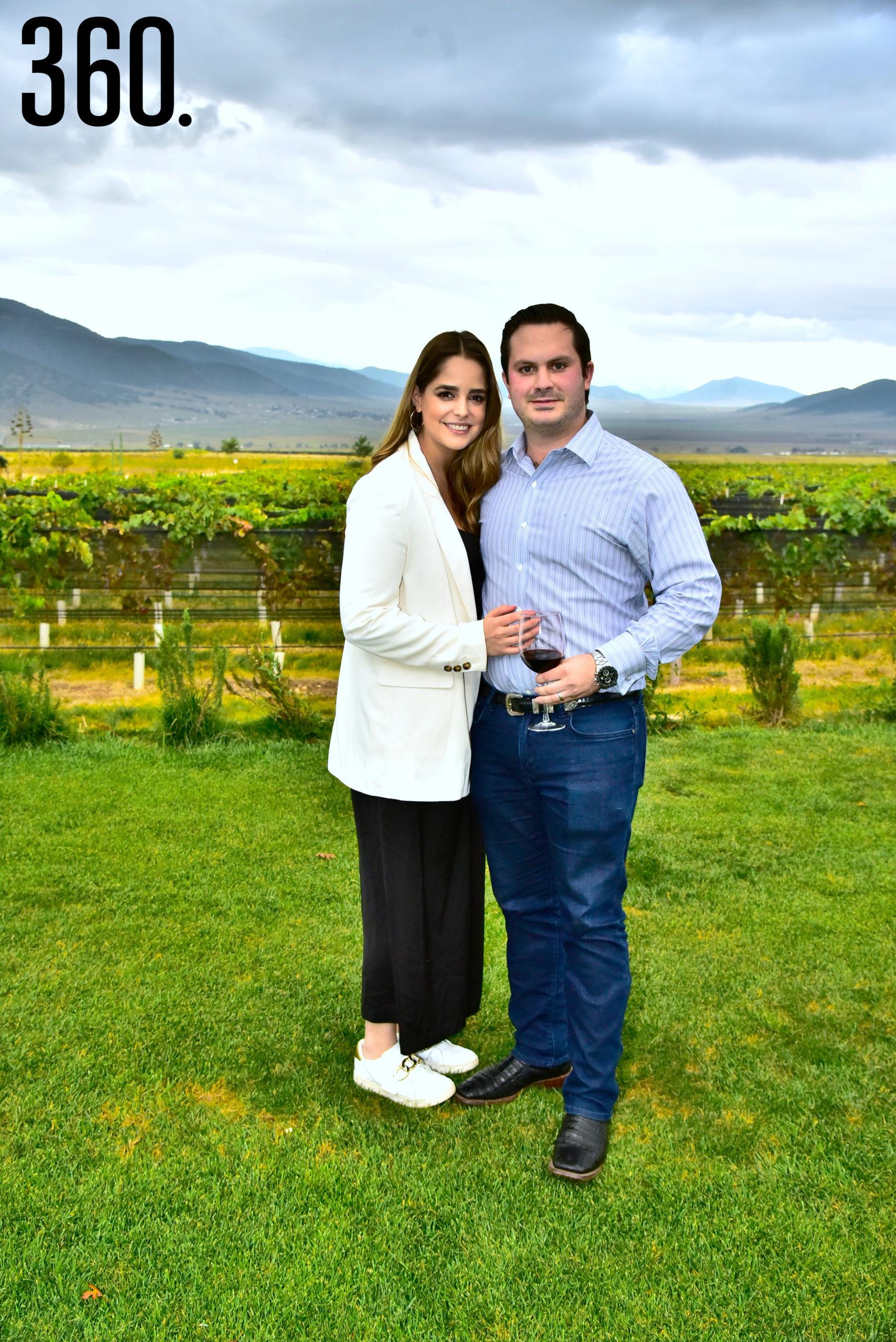 Daniela García y Rosendo Villarreal.