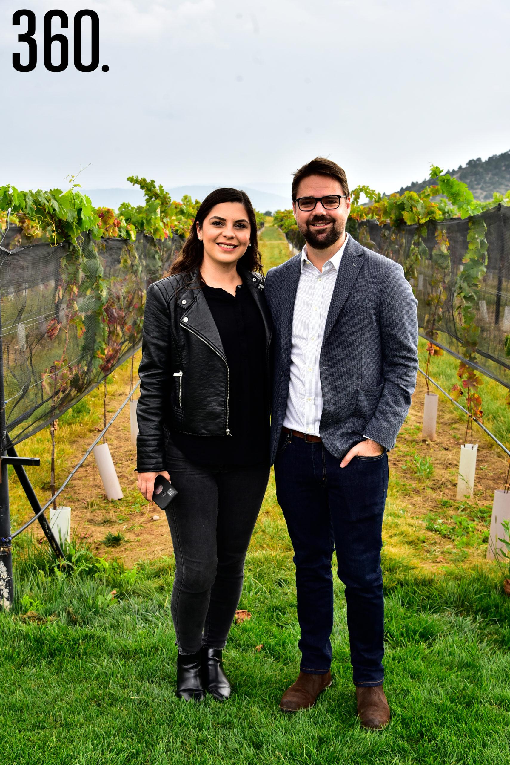 Marcela Fernandez y Jorge Valdés.
