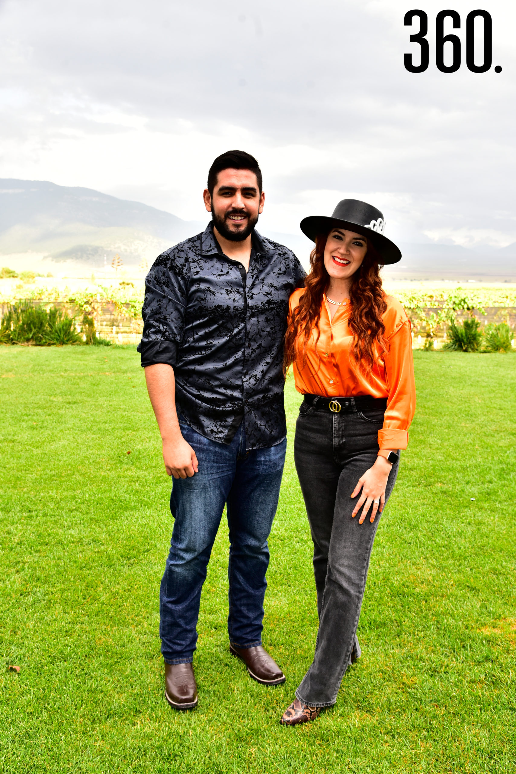 Gabriel Ríos y Valeria Flores.