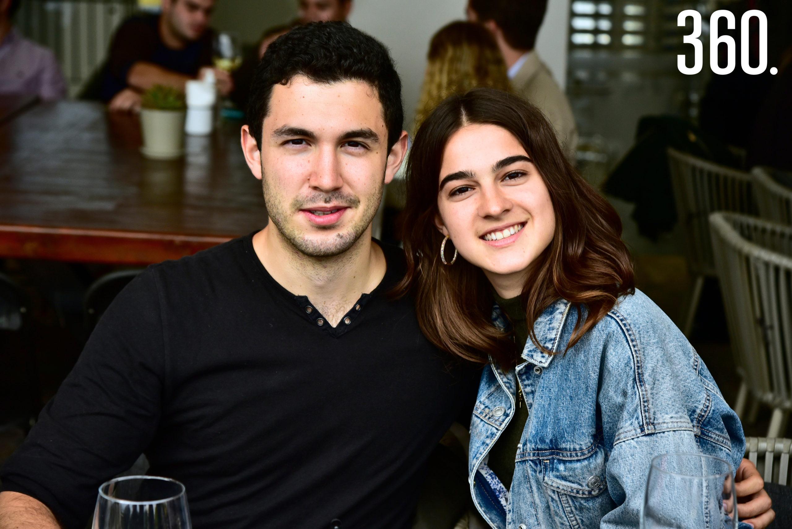 Jorge Arechavaleta y Karla García.