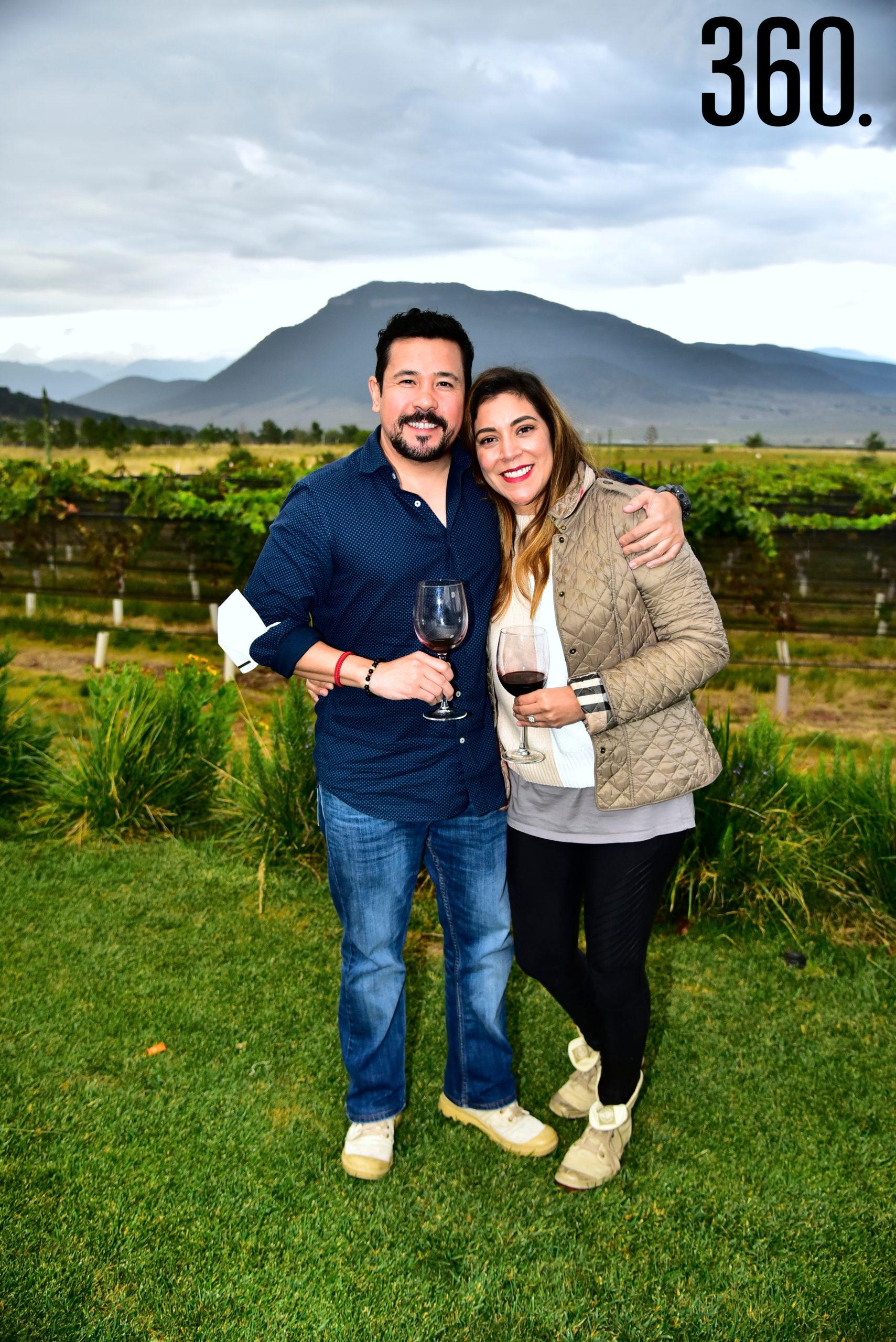 Ricardo Fernandez y Silvia Carrillo.