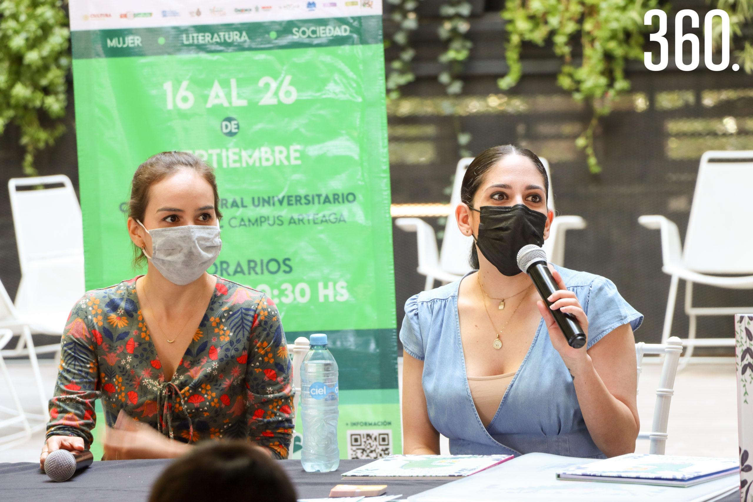 María Coco Rodríguez y Nidia Martínez de León.