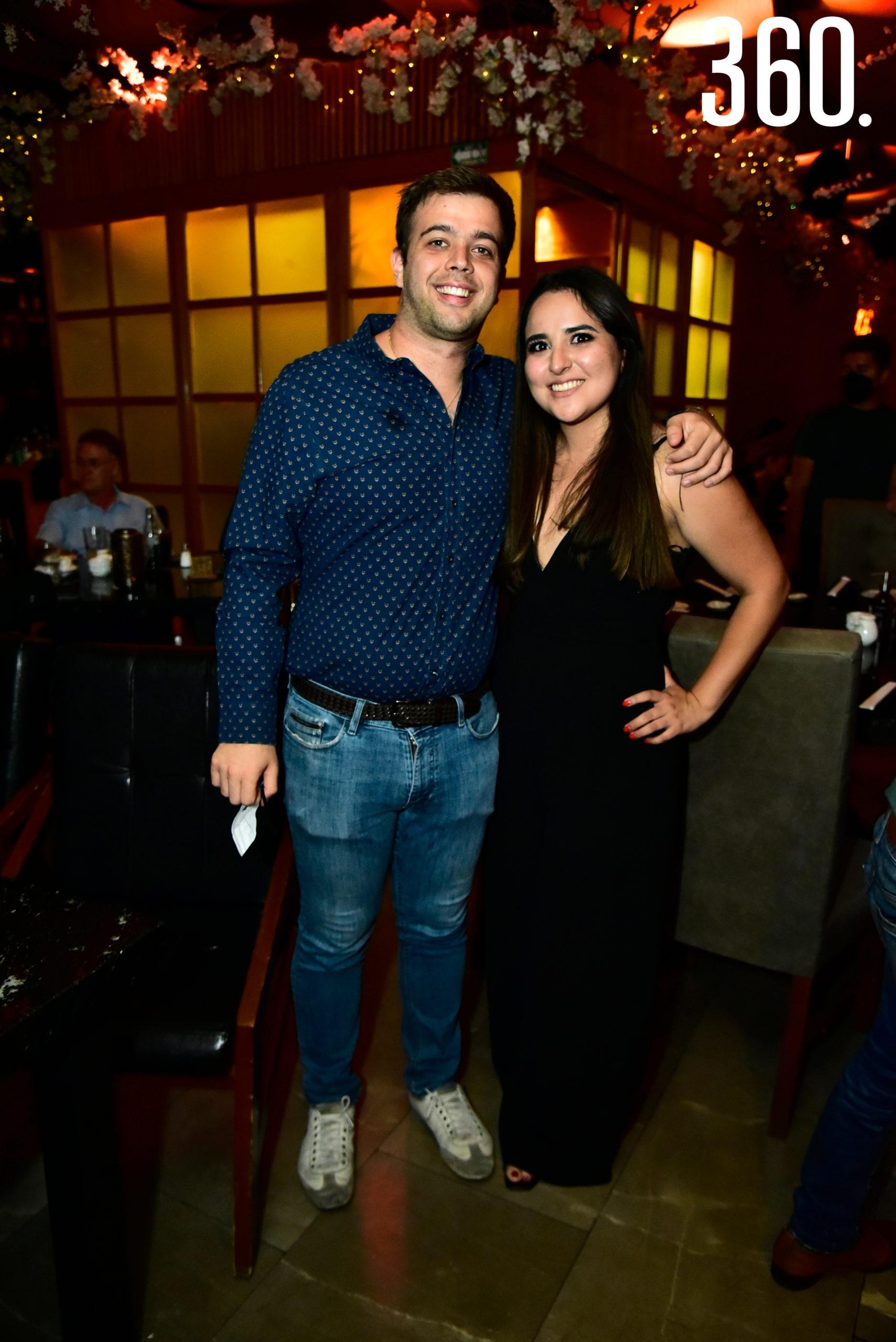 Ramón Rodríguez y Jocelyn Pérez.