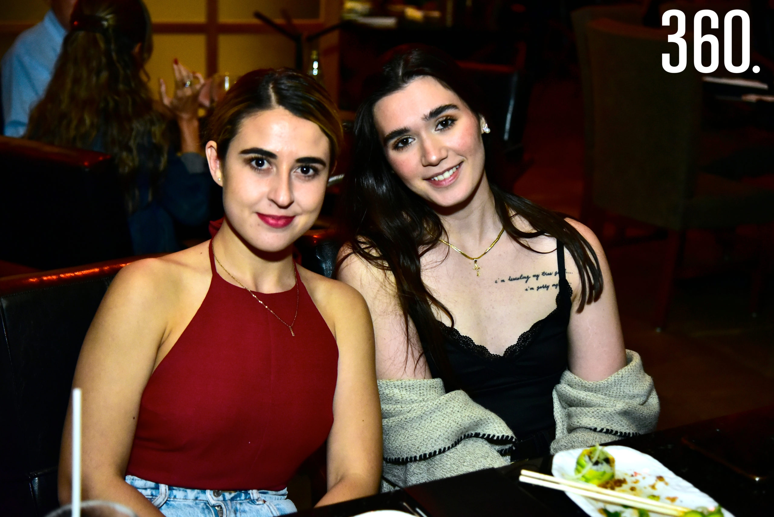 Amy Cotta y Aranza Barba.