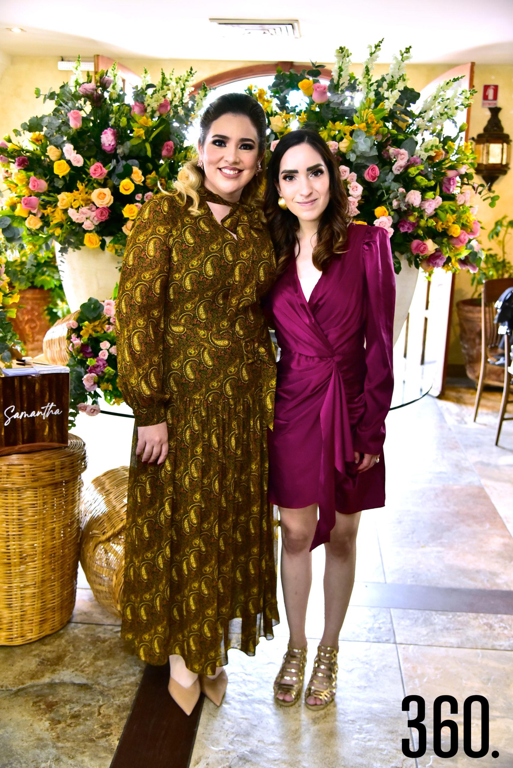 Samantha Natividad y Ceci Aguirre.