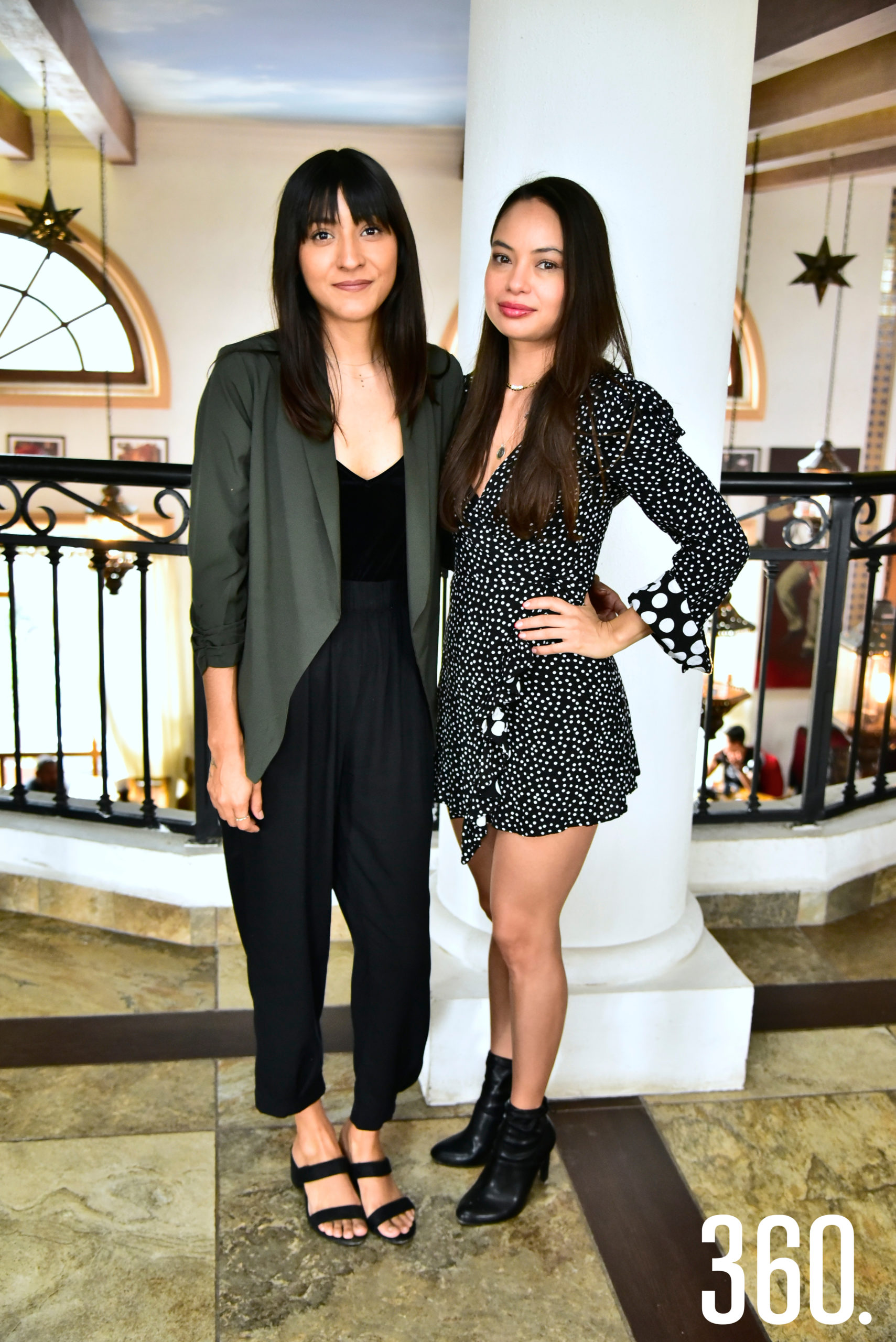 Carolina Castillo y Ana Karen Luna.
