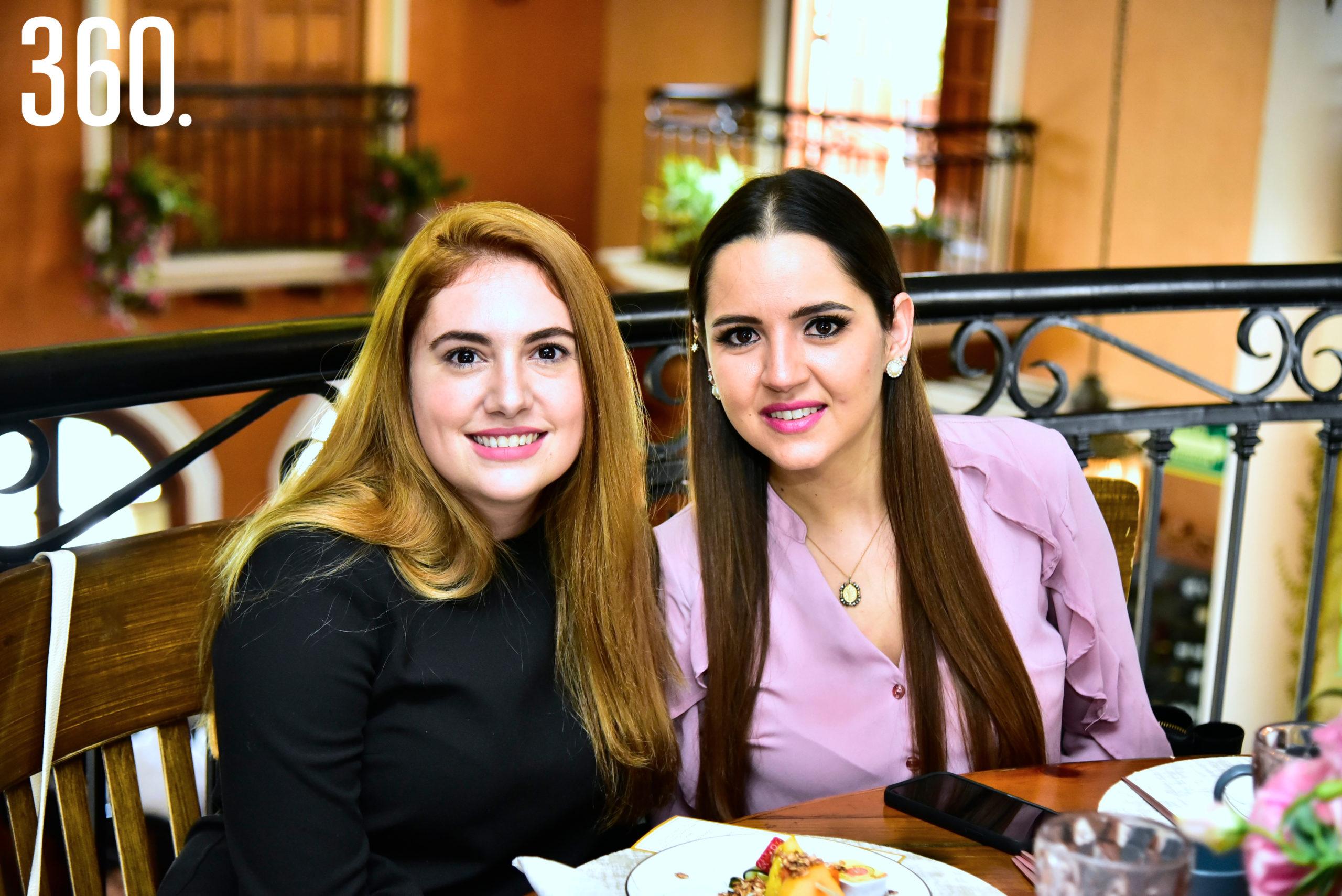 Patricia Ozuna y Ana Sofía Dávila.