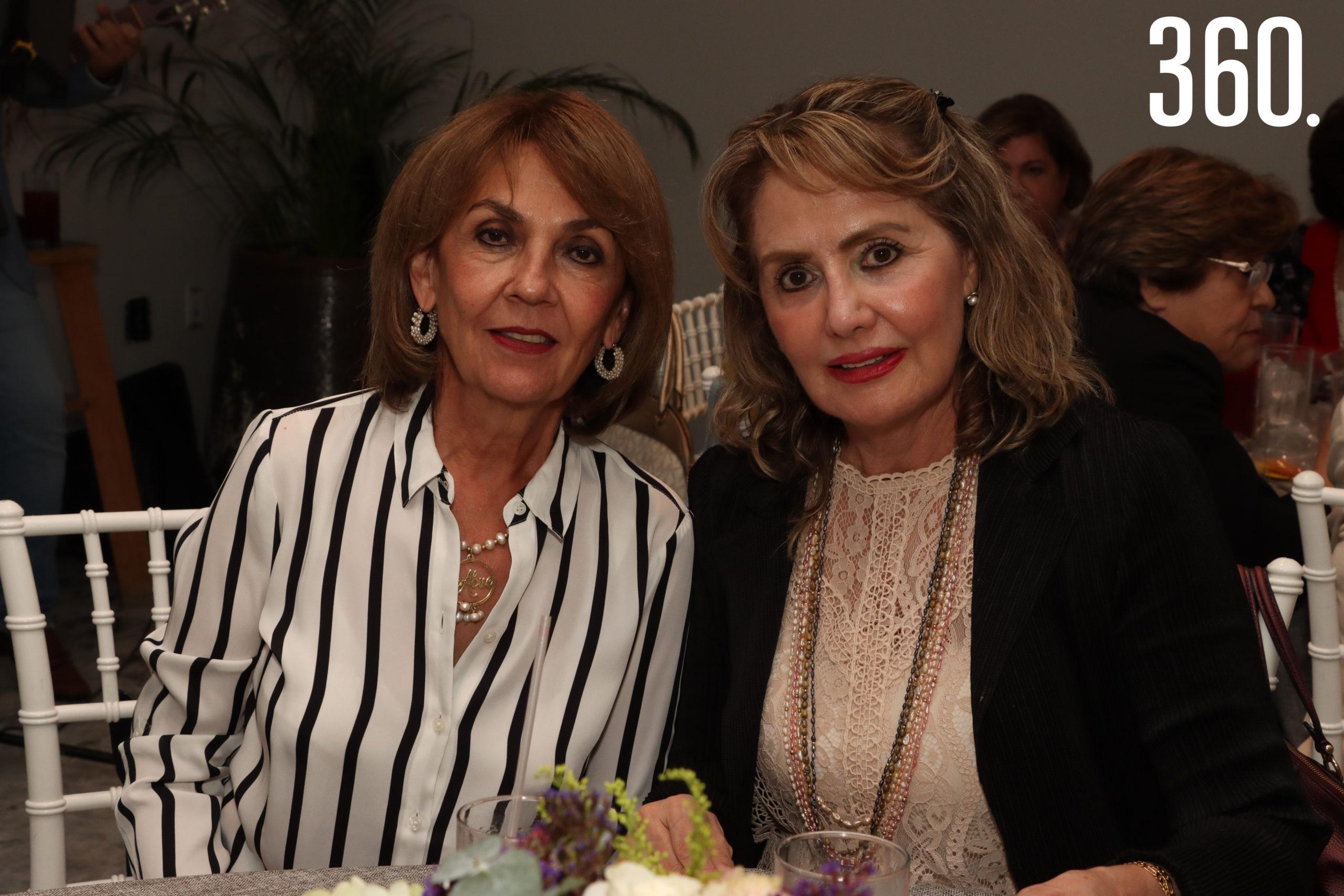 Malena Elizondo y Lucero Charles.