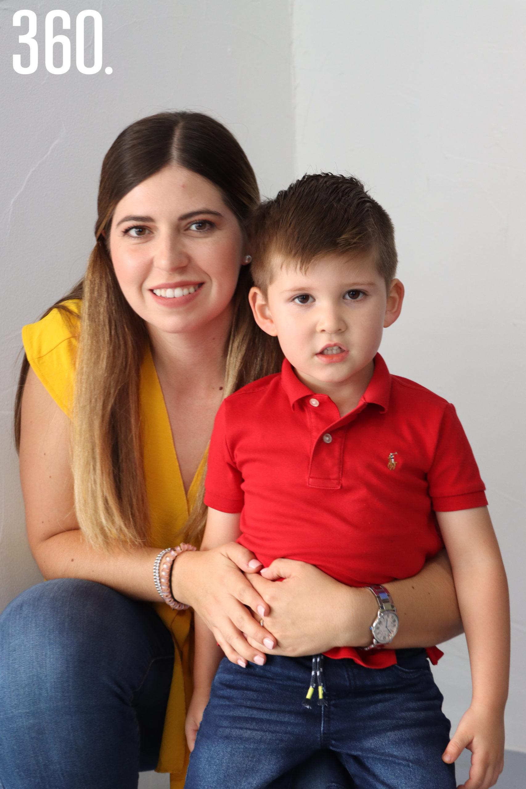Ana Lucía Peart y Roberto Rendón.
