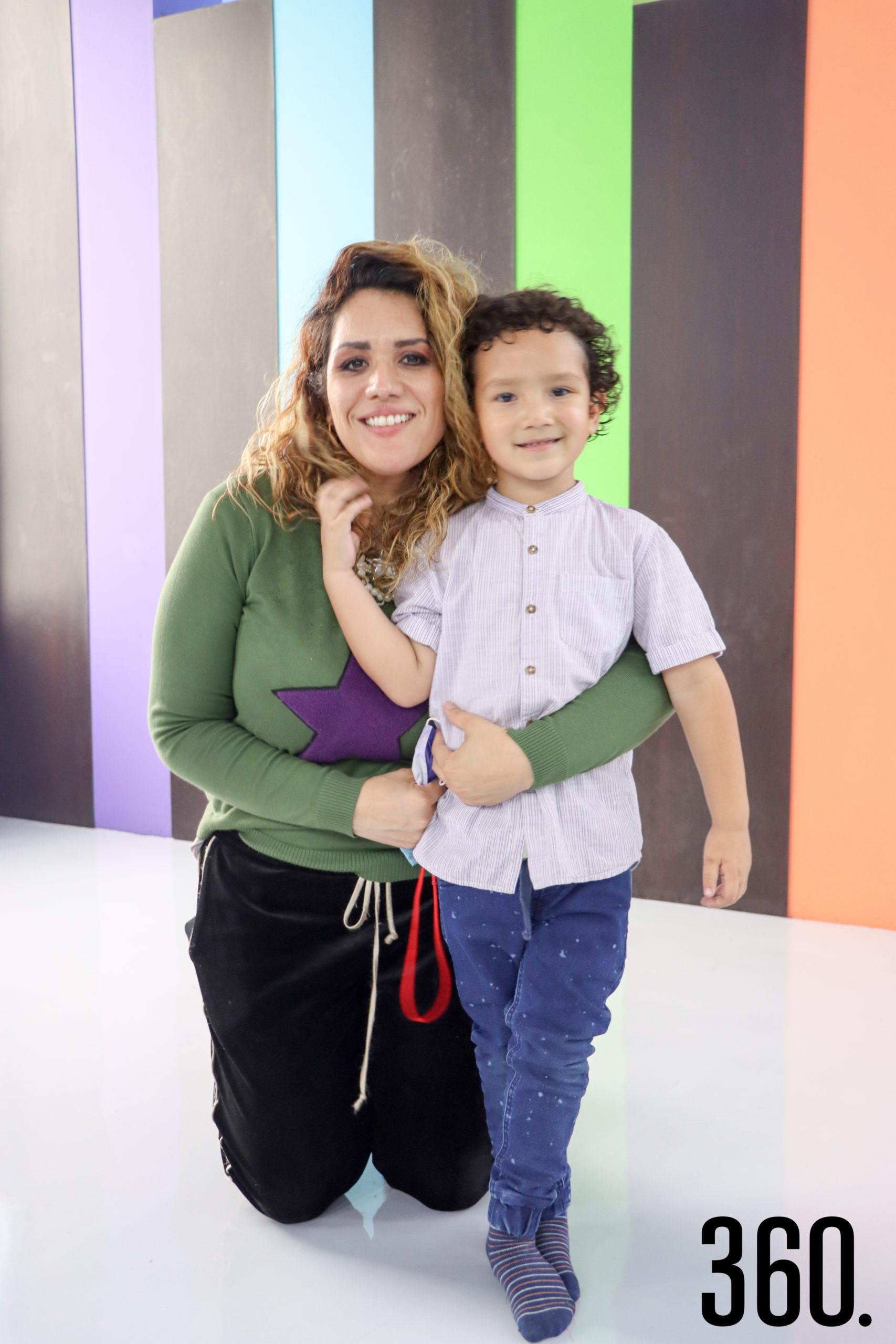 Marcela Molina y Mateo Peña.