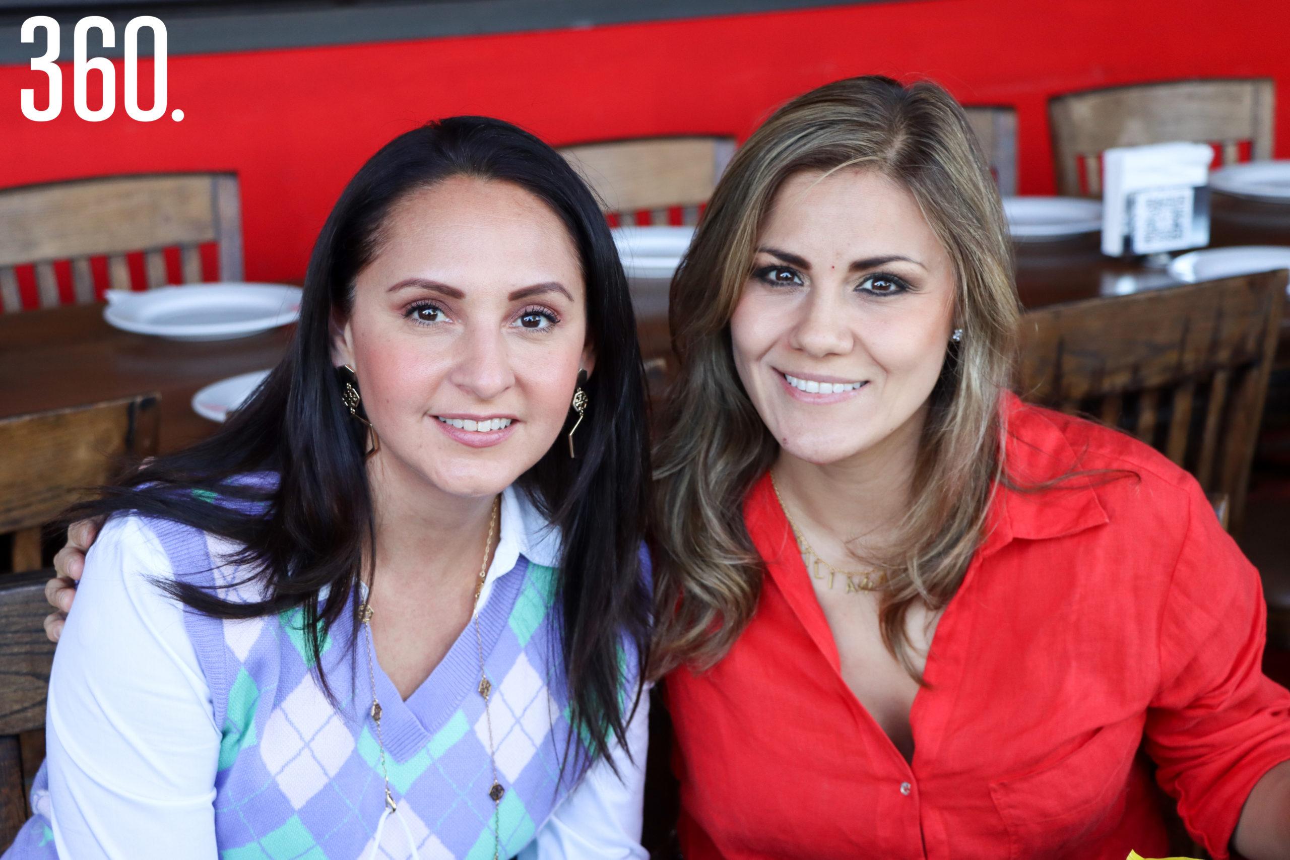 Adriana Ibarrarán y Lili García.