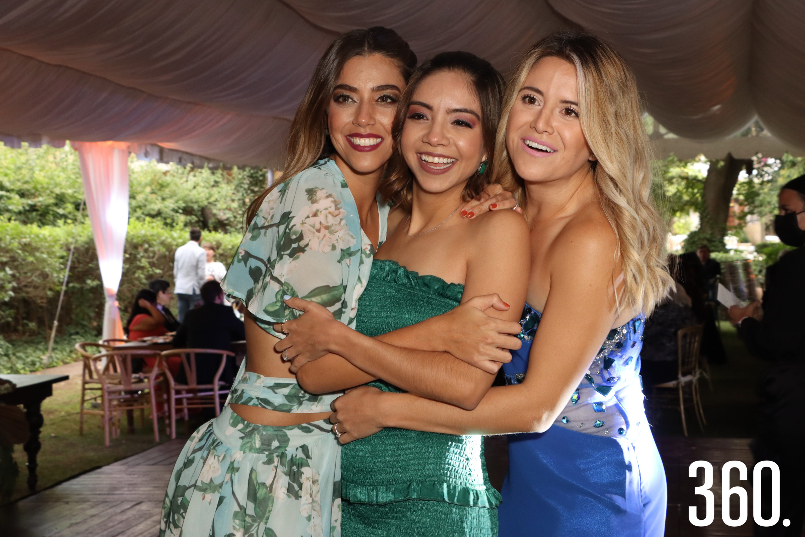 Claudia Yates, Diana Dávila y Sofía López.
