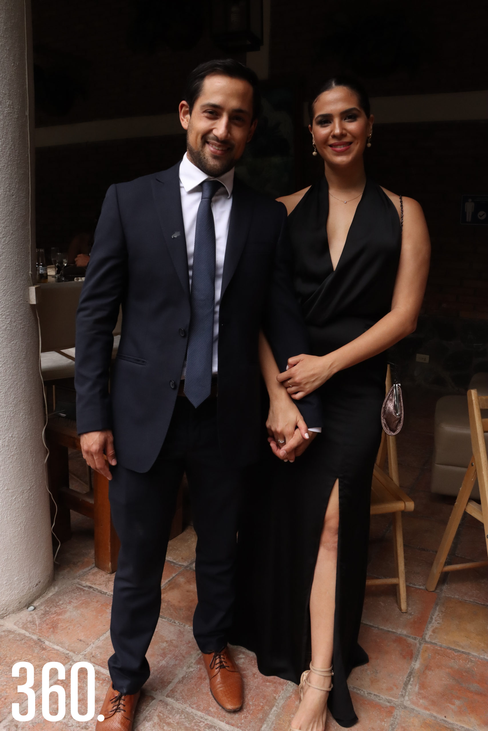 Ricardo Recio y Andrea López.