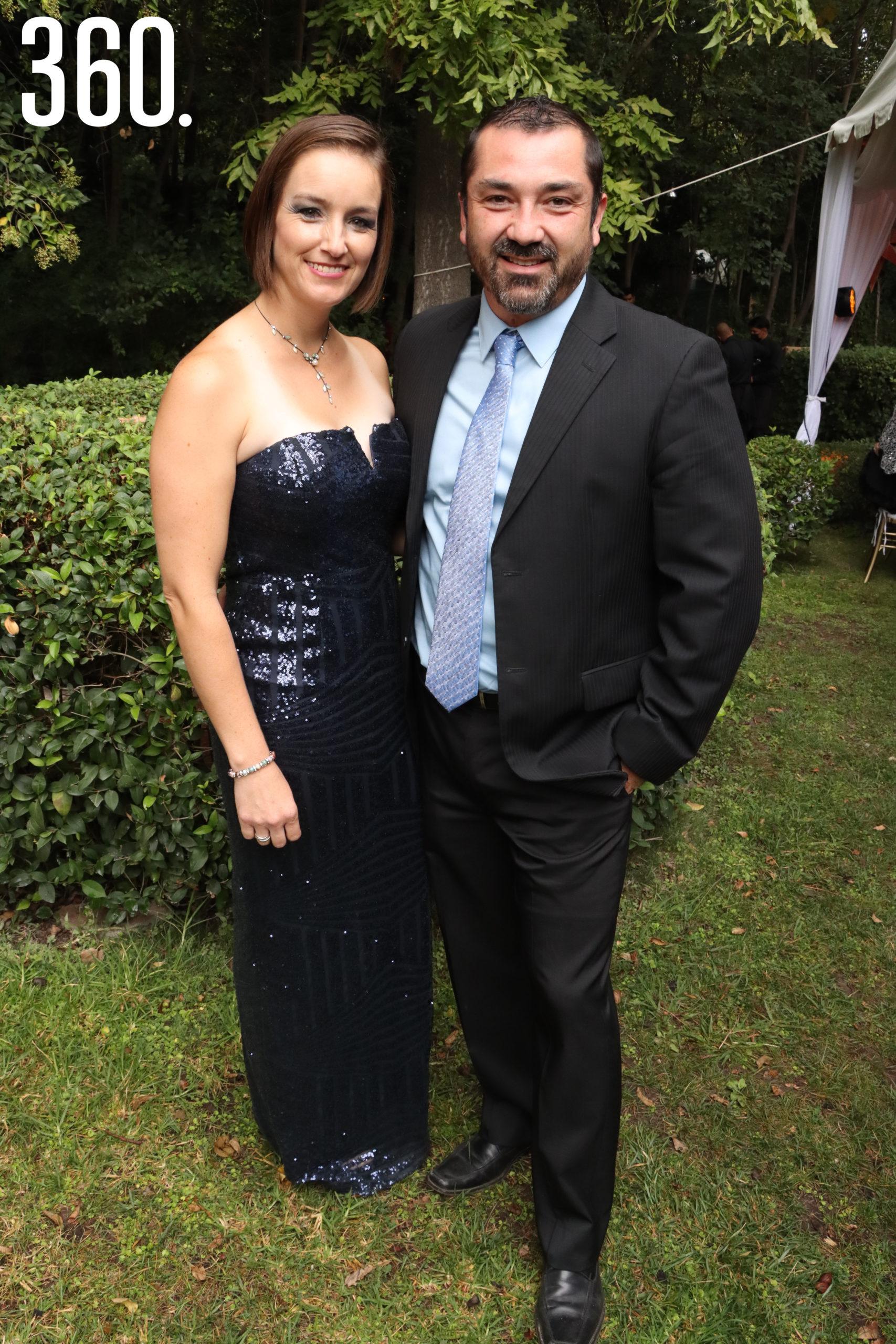 Ana López y Luis Mireles.