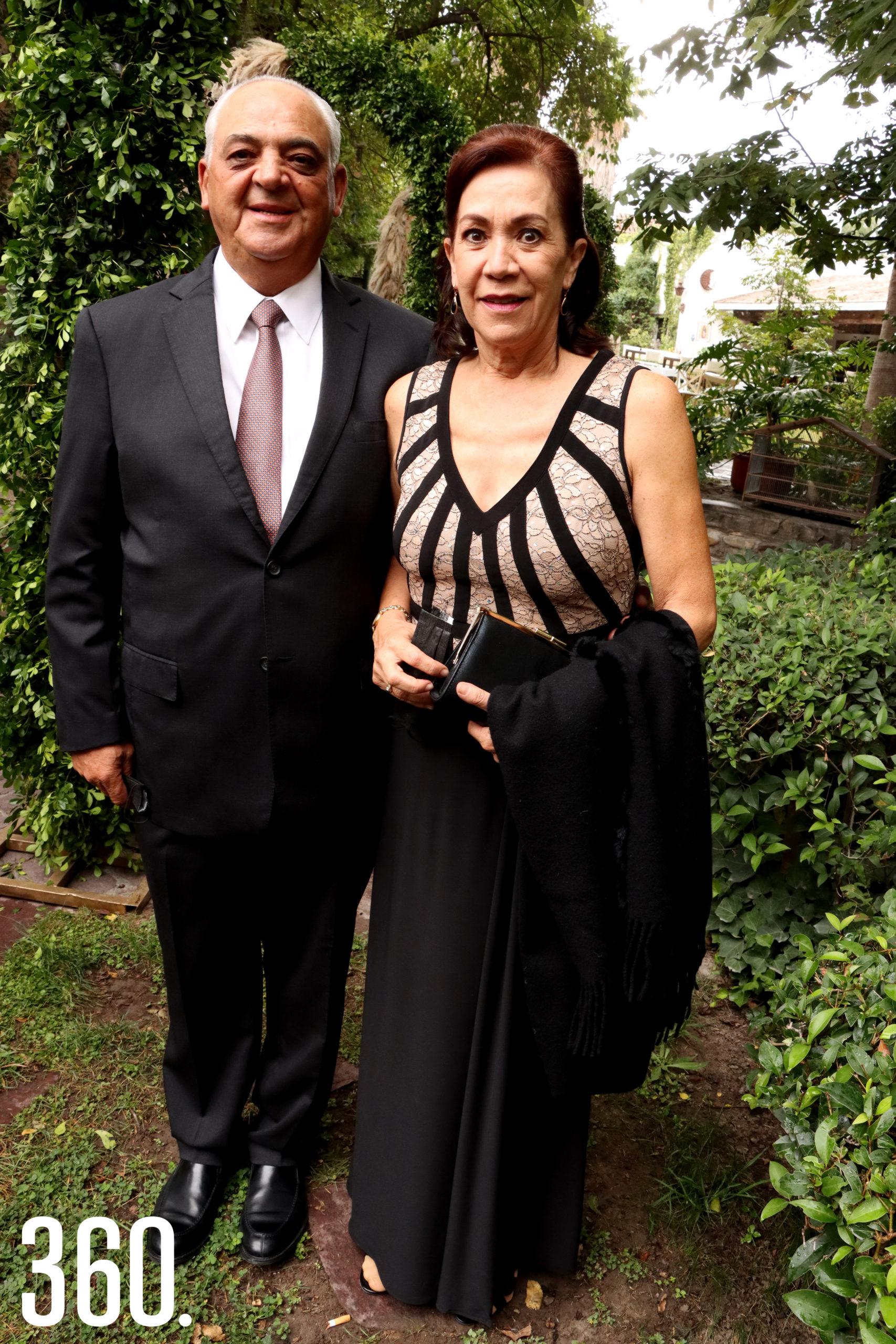 José Juan Cabello y Laura Castilla.