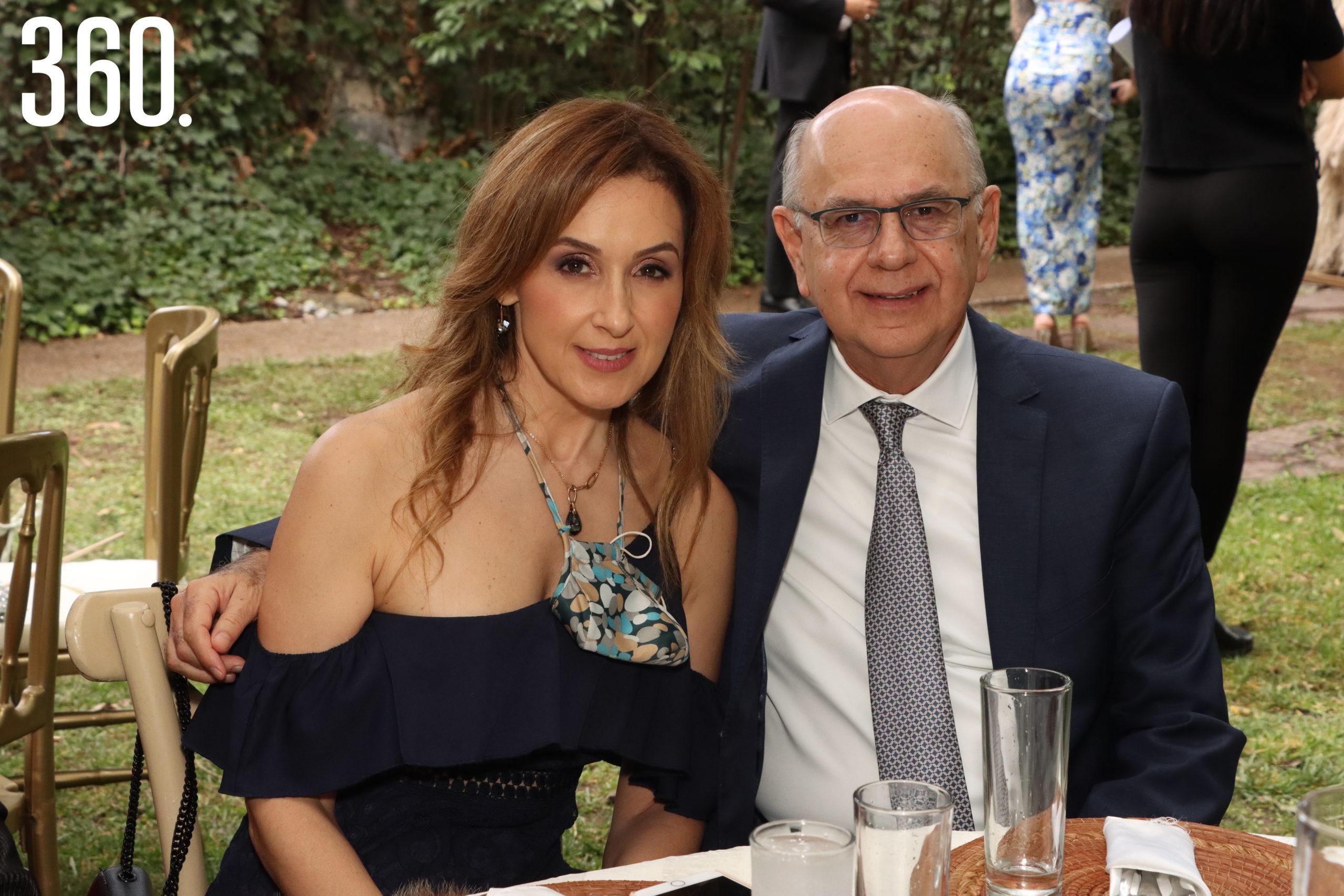 Patricia Garza y Alejandro Valdés.