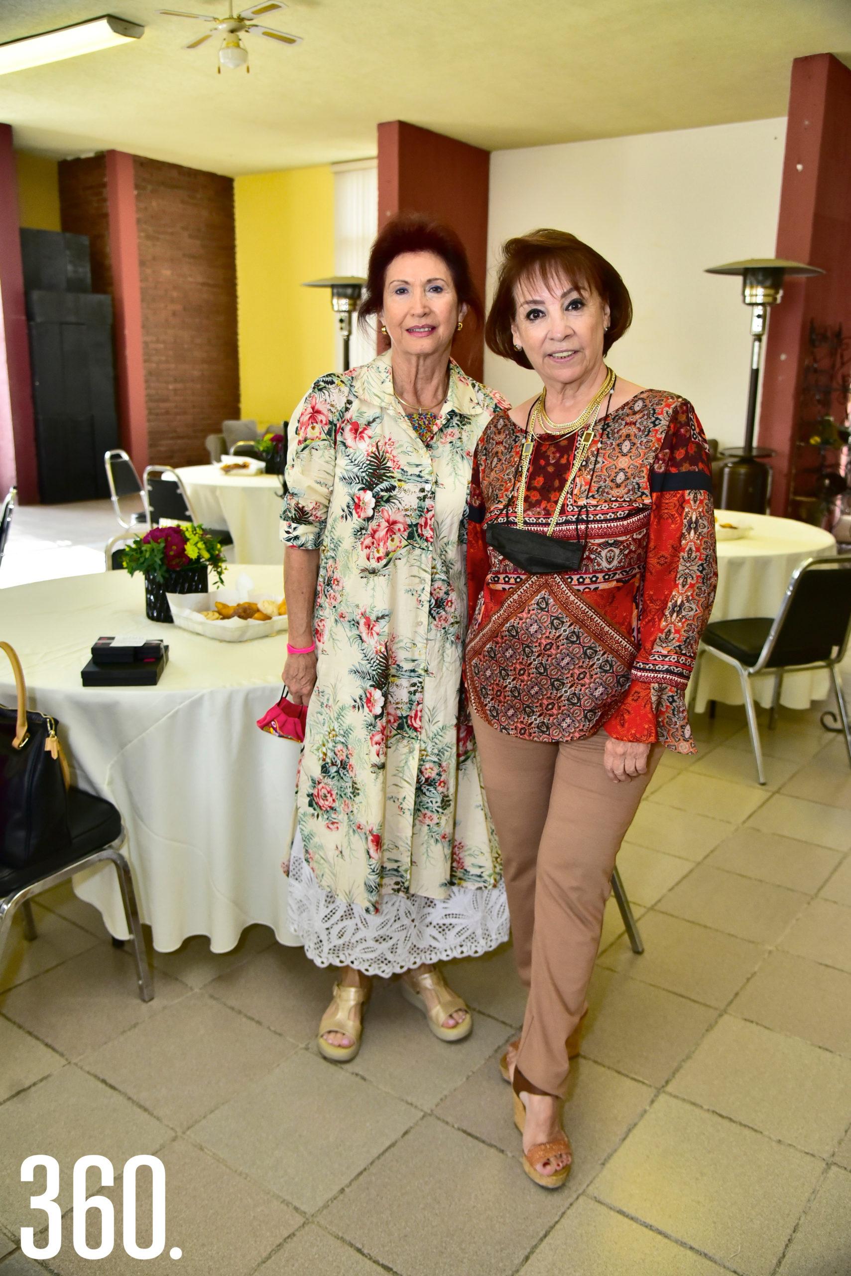 Rosy Santoscoy y Conchis Arrambide de Castro.