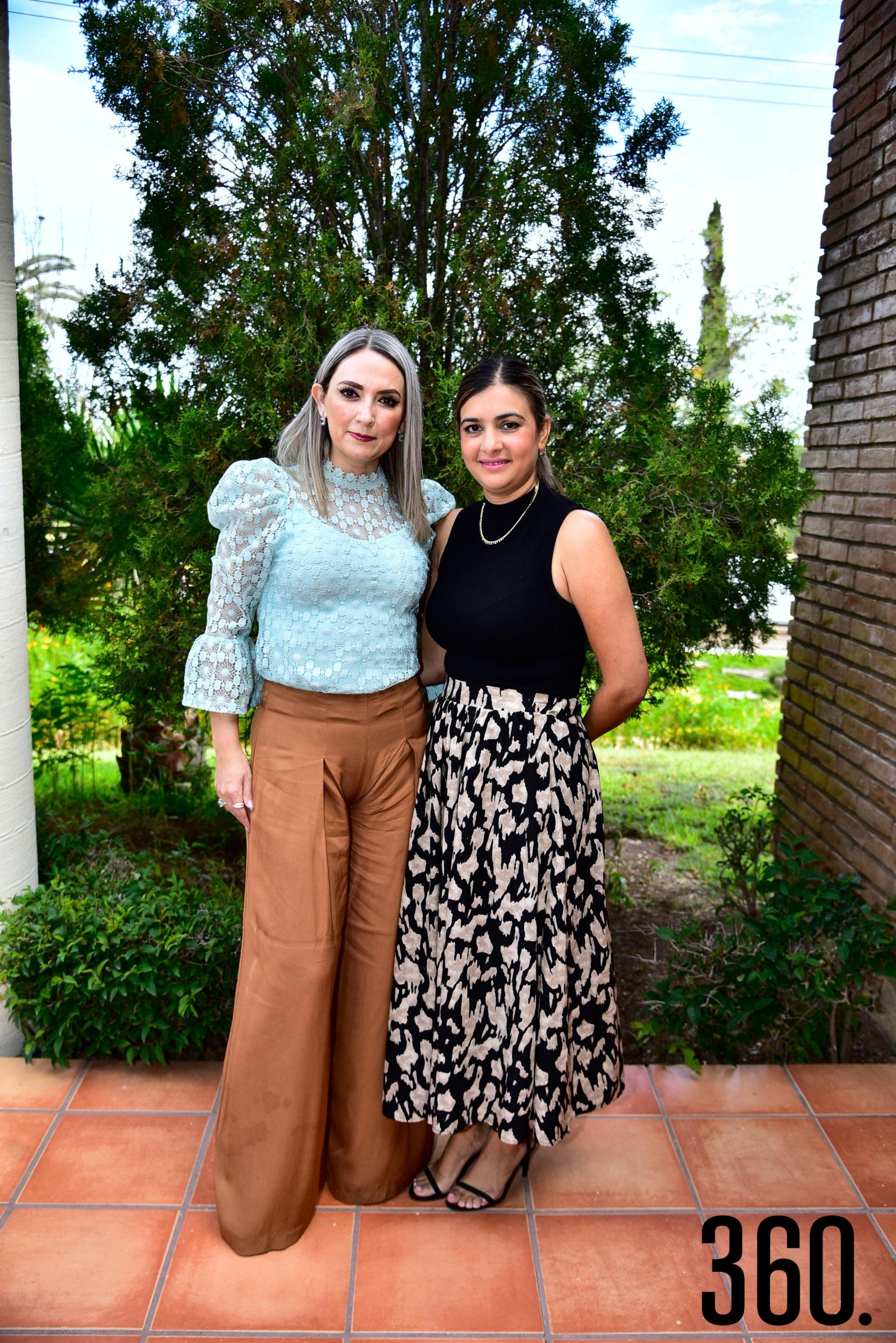 Celina Martínez y Cecilia Castillo.
