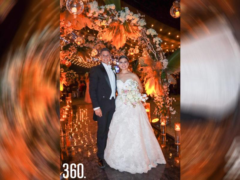 Gerardo Camacho y Ana Sofía Saucedo.
